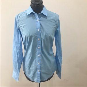 J. CREW Haberdashery Blue Shirt NWT - Size Small